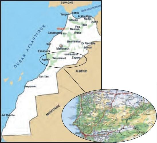 Projet Tanguerfa El Holia (Maroc 2012)