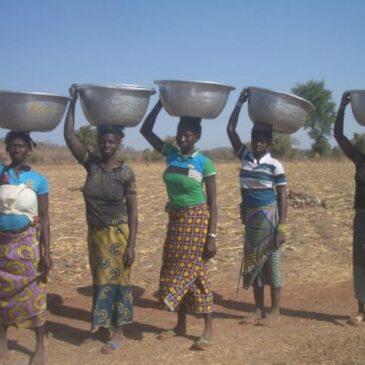 L'eau arrive au village ! PMH en action